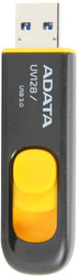 A-Data DashDrive UV128 Black/Yellow 128GB (AUV128-128G-RBY)
