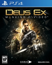 Deus Ex: Mankind Divided для PlayStation 4