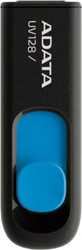 A-Data DashDrive UV128 Black/Blue 32GB (AUV128-32G-RBE)