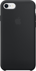 Apple Silicone Case для iPhone 8 / 7 Black