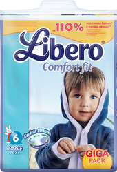 Libero Comfort Fit XL 6 Giga Pack (76 шт)