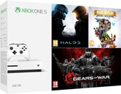 Microsoft Xbox One S 500GB + Halo 5 + Rare Replay + Gears of War UE