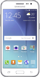 Samsung Galaxy J2 White [J200H/DS]