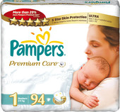Pampers Premium Care 1 (94 шт)
