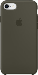 Apple Silicone Case для iPhone 8 / 7 Dark Olive