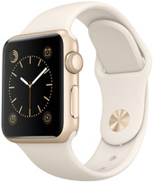 Apple Watch Sport 38mm Gold with White Sport Band (MLCJ2)