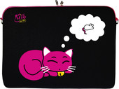 "DIGITTRADE Netbook Sleeve 10.2"" Kitty to Go (LS143-10)"