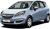 Opel Meriva Minivan Enjoy 1.4t (140) 6MT (2014)