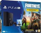 Sony PlayStation 4 Pro 1TB Fortnite Battle Royal Bomber Pack