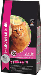 Eukanuba Adult For Overweight/Sterilized cats 1.5 кг