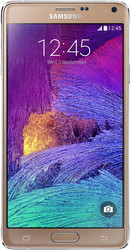 Samsung Galaxy Note 4 Bronze Gold [N910C]