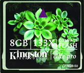 Kingston CompactFlash Elite Pro 133X 8 Гб (CF/8GB-S2)