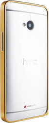 Отзывы о Love Mei Metal Bumper Gold For HTC One