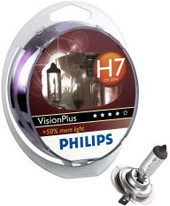 Philips H7 Vision Plus 2шт