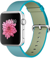Apple Watch Sport 42mm Silver with Scuba Blue Woven Nylon [MMFN2]