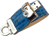 Prestigio Leather Flash Drive Blue 16 Гб (PLDF16CRBLT3A)