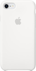 Apple Silicone Case для iPhone 8 / 7 White