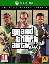Grand Theft Auto V. Premium Online Edition для Xbox One