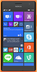 Nokia Lumia 730 Dual SIM Orange