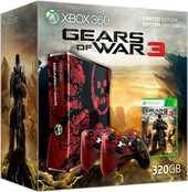 Microsoft Xbox 360 SLIM 320 Гб Gears of War 3 Limited Edition