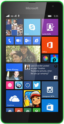 Отзывы о Microsoft Lumia 535 Green