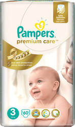 Pampers Premium Care 3 Midi (60 шт)