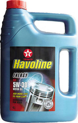 Отзывы о Texaco Havoline Energy 5W-30 5л