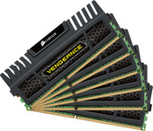Corsair Vengeance Black 6x4GB DDR3 PC3-12800 KIT (CMZ24GX3M6A1600C9)