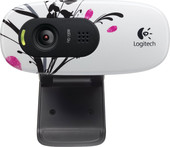 Logitech HD WebCam C270 Fingerprint Flowers (960-000799)