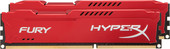 Kingston HyperX Fury Red 2x4GB KIT DDR3 PC3-12800 (HX316C10FRK2/8)
