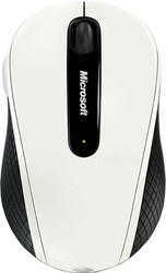 Microsoft Wireless Mobile Mouse 4000 White