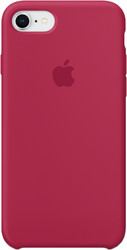 Apple Silicone Case для iPhone 8 / 7 Rose Red
