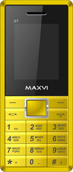 Maxvi C7 Yellow/Black