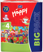 Happy MAXI 4 BIG PACK (70 шт)