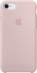 Apple Silicone Case для iPhone 8 / 7 Pink Sand