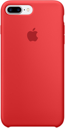 Apple Silicone Case для iPhone 7 Plus Red [MMQV2]