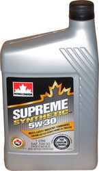 Petro-Canada Supreme Synthetic 5W-30 1л