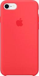 Apple Silicone Case для iPhone 8 / 7 Red Raspberry