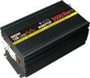 Инвертор PI-3000/12 преобразует напряжение 12В в 220В с модифицированной синусоидой на выходе.