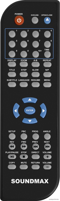 Dvd плеер soundmax 1