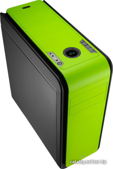 Корпус Miditower Aerocool DS 200 Green ATX без БП
