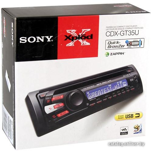 Инструкция Sony Cdx-Gt200s