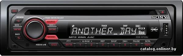 Sony CDX-GT427UE - Цены интернет-магазинов Минска, характеристики на Автомагнитола Sony CDX-GT427UE - MIGOM.by - Минск.