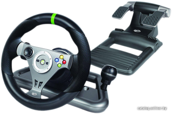 The mad catz pro force feedback wheel was released in august of 2014 and was the second force feedback option