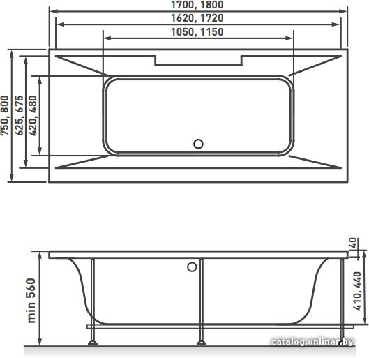 Материал. ванна акриловая.  Страна: Швейцария.  Экран.  100 % литьевой акрил (ПММА) и Plexiglas.  Каркас.