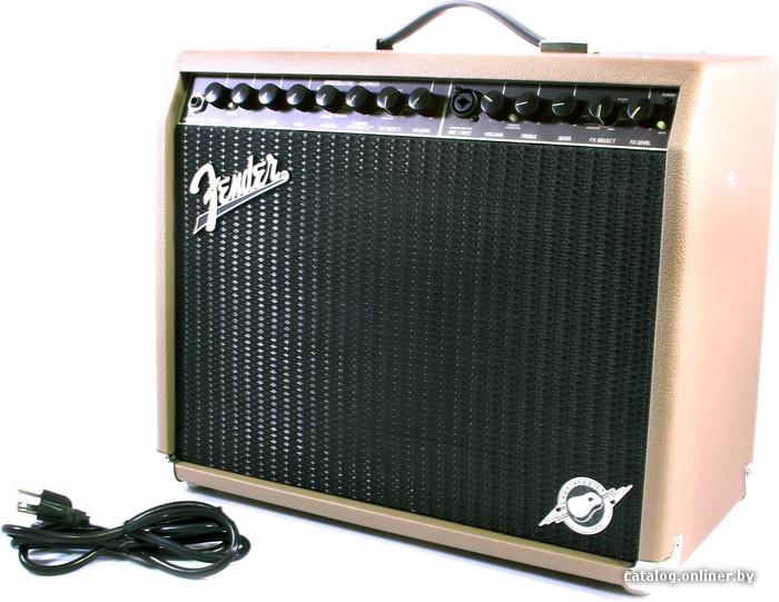 """для акустической гитары, комбик, транзисторный, мощность: 100 Вт, 1x8 """", каналов: 2, микрофонный вход, 49x25x39 см..."""