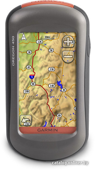 Gps receiver and hotfix satellite prediction, oregon 400t locates your position quickly and precisely and maintains