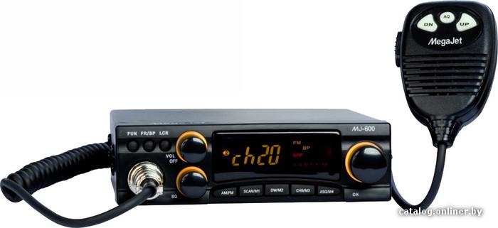 АВТОМОБИЛЬНАЯ РАЦИЯ MEGAJET MJ-600 TURBO Си-Би радиостанция MegaJet MJ-600 Turbo отличается компактными размерами...