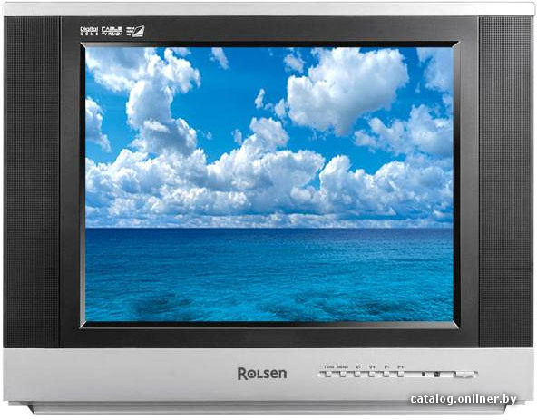 Телевизор кинескопный Rolsen C21SR80NT Slim.