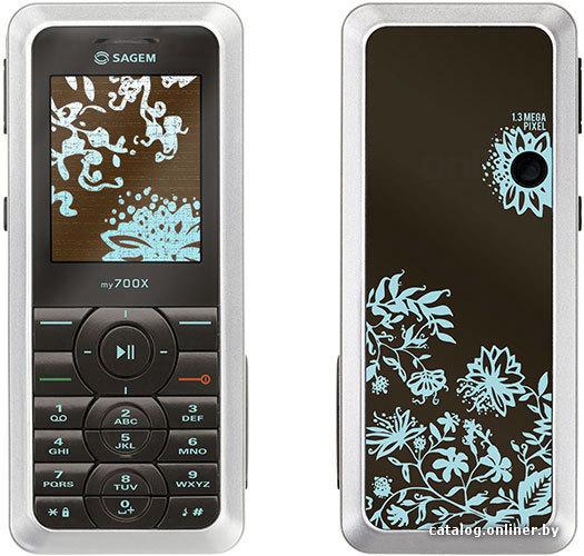Фотография Мобильный телефон Sagem my700X в хорошем качестве.